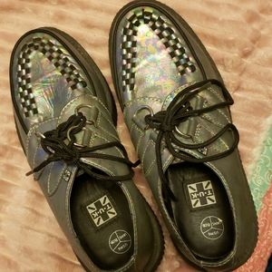 Oil Spill Gray T.U.K Creepers